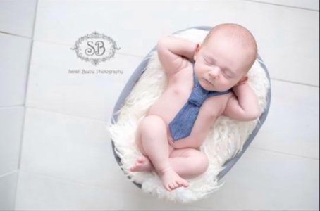 Baby Emmett by Sarah Beebe Photography