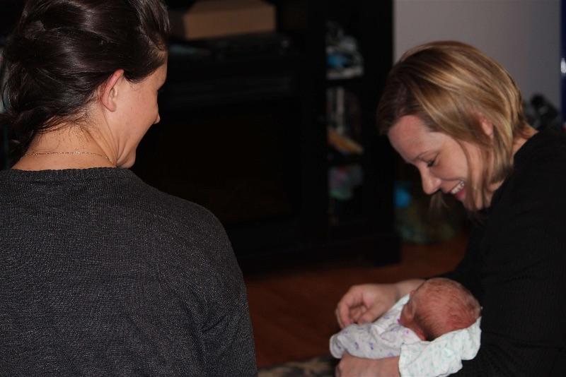 JoySpring postpartum visit