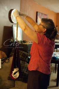 Cathy Harness with baby Audrey by Crux Photography and Lifecasting