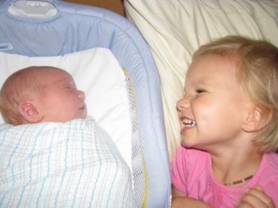 JoySpring Midwifery babies Jane and Caleb